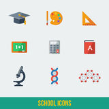Modern flat icons vector collection. Stock Photography