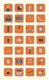 Modern flat icons vector collection Royalty Free Stock Image