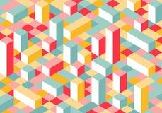 Modern Flat Isometry Background Royalty Free Stock Photo
