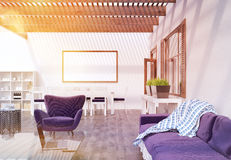 Modern flat room Royalty Free Stock Images