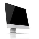 Modern flat screen computer monitor. Stock Image