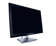 Modern flat screen LCD monitor Royalty Free Stock Photo