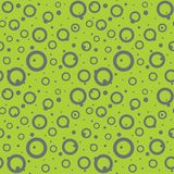 Modern flat seamless abstract background from random placed dots Stock Photos
