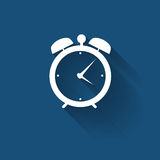 Modern Flat Time Management Vector Icon for Web Stock Images