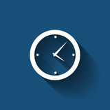 Modern Flat Time Management Vector Icon for Web Royalty Free Stock Photo