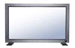 Modern flat TV royalty free stock photography