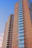 Modern flatgebouw Stock Foto