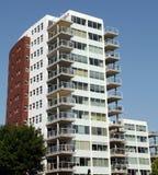 Modern flatgebouw Royalty-vrije Stock Fotografie