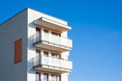 Modern Flatgebouw Stock Foto's
