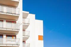 Modern Flatgebouw Royalty-vrije Stock Afbeelding