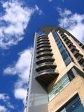 Modern Flatgebouw in Manchester Stock Fotografie