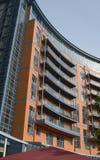 Modern Flatgebouw portsmouth engeland Stock Fotografie