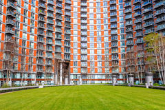 Modern flats at new providence wharf. In London Royalty Free Stock Image