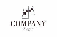 Modern flooring logo. A logo for a modern 3D flooring company vector illustration
