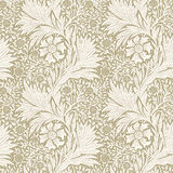 Modern floral seamless pattern for your design. Desktop wallpaper.  Vector  illustration. Background. Stock Photo