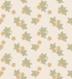 Modern floral seamless pattern for your design. Vector. Background. Royalty Free Stock Photography