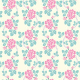 Modern floral seamless pattern for your design. Vector. Background. Stock Photography