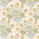 Modern floral seamless pattern for your design. Vector. Background. Royalty Free Stock Images