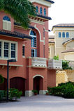 Modern florida architecture Royalty Free Stock Images