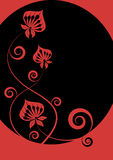 Modern flower design Royalty Free Stock Photo