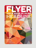 Modern flyers, brochures. Abstract backgrounds, online Royalty Free Stock Images