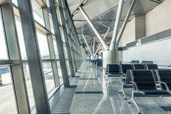 Modern flygplatsterminal Royaltyfri Fotografi