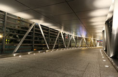 Modern flyover. A modern flyover at night Royalty Free Stock Images