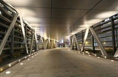 Modern flyover. A modern flyover at night Royalty Free Stock Photo