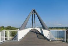 Modern footbridge Stock Photography