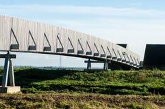 Modern footbridge Royalty Free Stock Photography