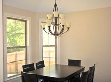 Modern Formal Dining Room stock photography