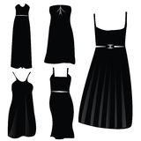 Modern formal dresses Royalty Free Stock Photos
