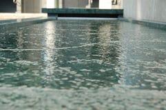 Modern Fountain Basin Stock Photography