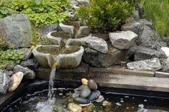 Modern fountain stock photography