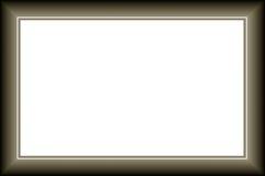 Modern frame Stock Image