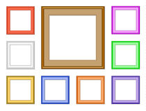 Modern frame-square Royalty Free Stock Photography