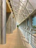 Modern framework passage. (bright photo royalty free stock photo