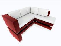 modern framförd sofa Royaltyfri Foto