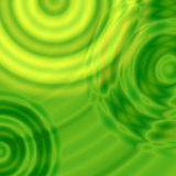 Modern free curves. 3d green background Royalty Free Stock Photos