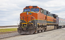 Modern freight train Stock Image