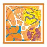 Modern fresh abstract design. royalty free illustration