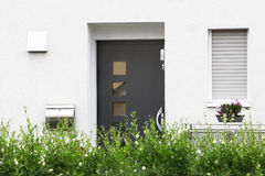 Modern front door Stock Photography