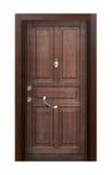 Modern front door Stock Image