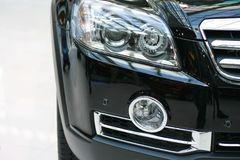 Modern Front Headlight Stock Photos