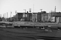 Modern frontier town 2. Modern frontier town Aurora, Missouri Royalty Free Stock Photo