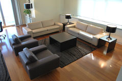 Modern furniture Royalty Free Stock Photos