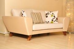 Modern furniture stock image