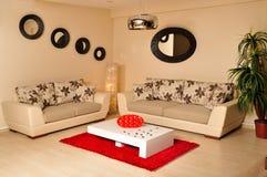 Modern furniture Stock Photography
