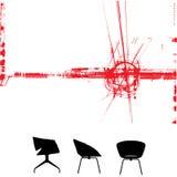 Modern furniture background. A modern furniture background Royalty Free Illustration