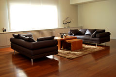 Modern furniture. The details of the modern and stylish furniture Stock Photo